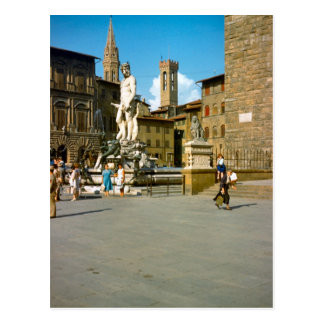 Firenze, Statue of David by Michelangelo Postcard