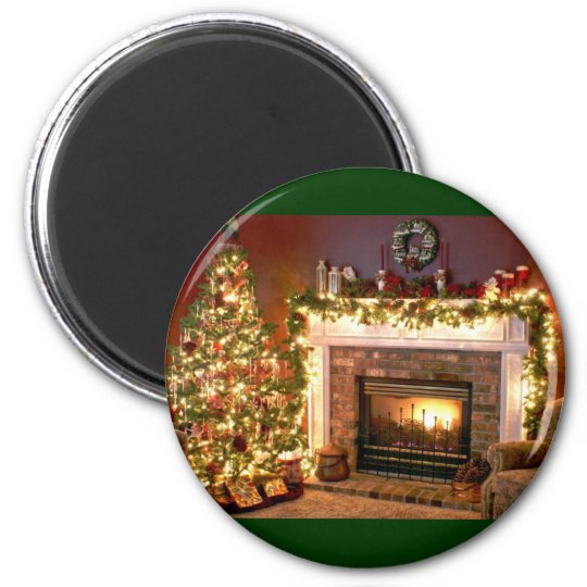 Fireplace 2 magnet