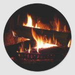 Fireplace Sticker