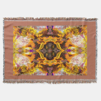 Fires of Change Alchemy Woven Blanket by Deprise