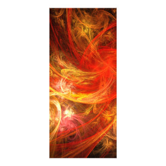 Firestorm Nova Abstract Art Rack Card