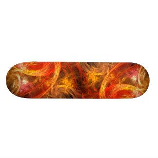 Firestorm Nova Abstract Art Skateboard