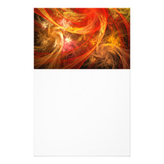 Firestorm Nova Abstract Art Stationery