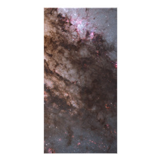 Firestorm of Star Birth in Galaxy Centaurus A Customized Photo Card