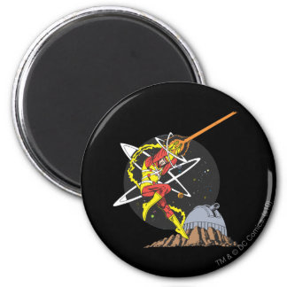 Firestorm - The Nuclear Man 6 Cm Round Magnet