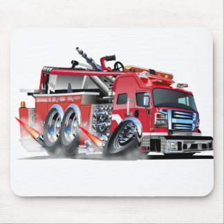 firetruck burnout mouse pad