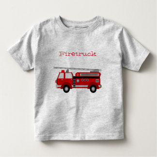 Firetruck for Toddlers Toddler T-Shirt