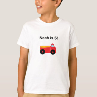 """Firetruck"" Personalized T-Shirt"