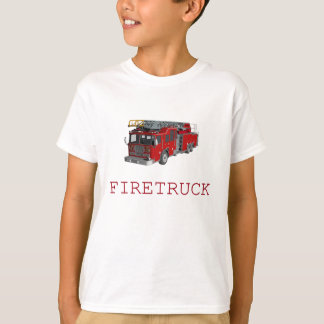 Firetruck with front and back T-Shirt
