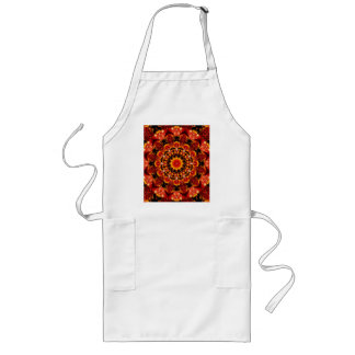 Firewalk Abstract Spiritual Quest in Flames Aprons