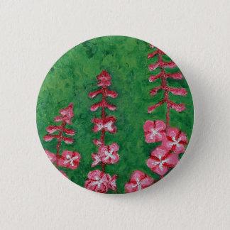 fireweed 6 cm round badge