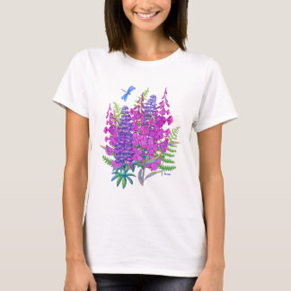 Fireweed and Lupine T-Shirt