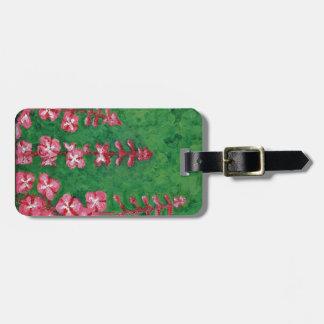 fireweed luggage tag
