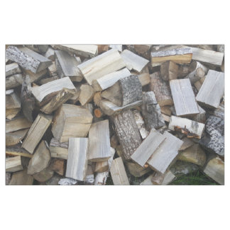Firewood  logs photograph fabric