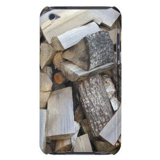 Firewood  logs photograph iPod touch Case-Mate case
