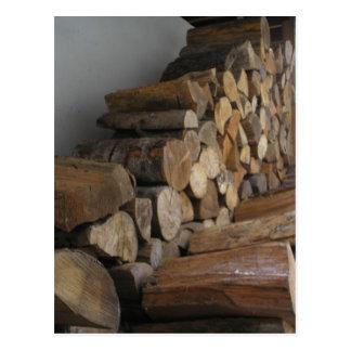 Firewood Postcard