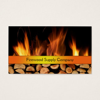 Firewood Supply Company Business Card