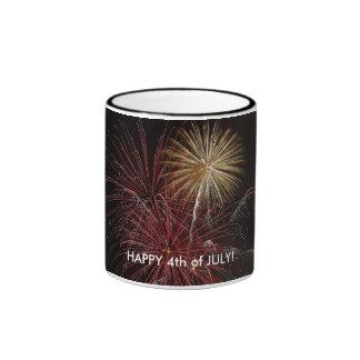 Firework1, HAPPY 4th of JULY! Mugs
