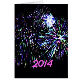 firework 2014 greeting cards