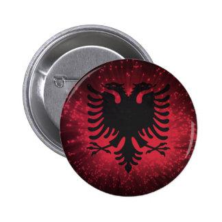 Firework Albania Flag Pin