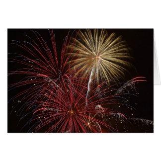 Firework Cards