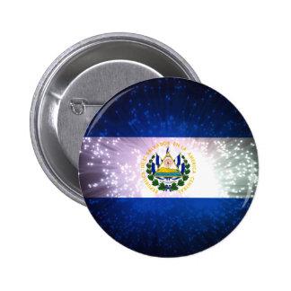 Firework El Salvador Flag Buttons