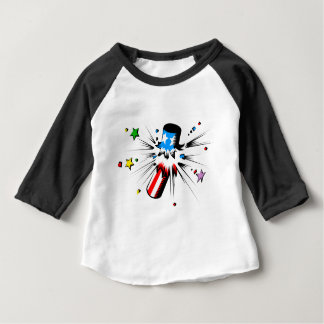 Firework Explosion Baby T-Shirt