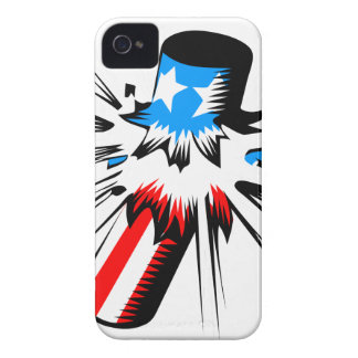 Firework Explosion iPhone 4 Cases
