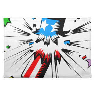 Firework Explosion Placemat