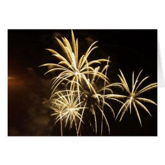 Fireworks 19 greeting card