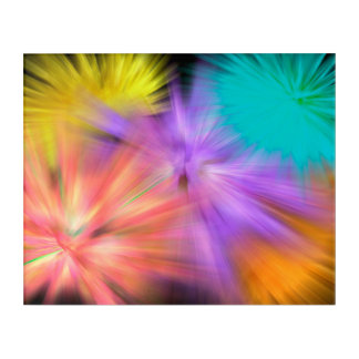 Fireworks #1 acrylic print