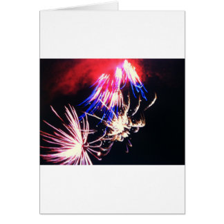 Fireworks 2014 greeting card