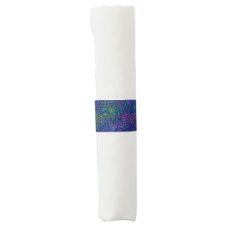 Fireworks 4th of July Colorful Summer Pattern Napkin Band