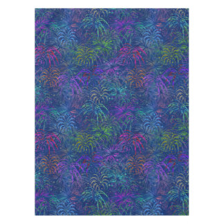 Fireworks 4th of July Colorful Summer Pattern Tablecloth