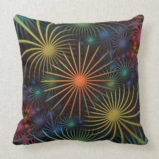 Fireworks (a three dimensional fractal design) cushion