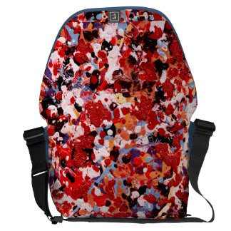 FIREWORKS ~ (abstract art design) ~ Courier Bag