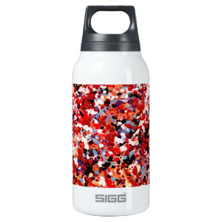 FIREWORKS ~ (abstract art design) ~ Insulated Water Bottle