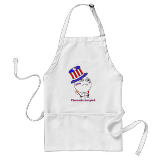 Fireworks Accepted! Standard Apron