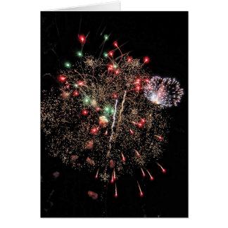 Fireworks Airburst 2 Card
