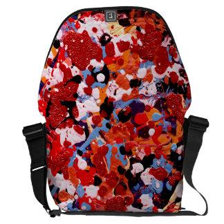 FIREWORKS! (an abstract art design) ~ Commuter Bags