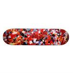 FIREWORKS! (an abstract art design) ~ Skateboard