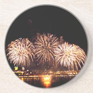 Fireworks And Quebec City Coaster
