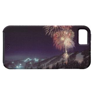 Fireworks at Big Mountain Resort in Whitefish, iPhone 5 Case