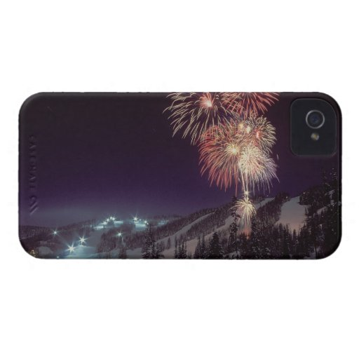 Fireworks at Big Mountain Resort in Whitefish, Blackberry Bold Cover