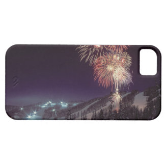 Fireworks at Big Mountain Resort in Whitefish, iPhone 5 Cases