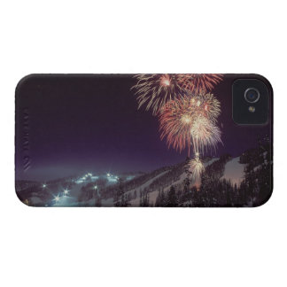 Fireworks at Big Mountain Resort in Whitefish, iPhone 4 Case-Mate Cases