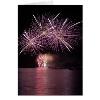 fireworks greeting cards