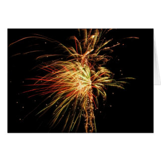 Fireworks Card