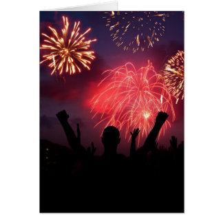 Fireworks Celebration Greeting Cards