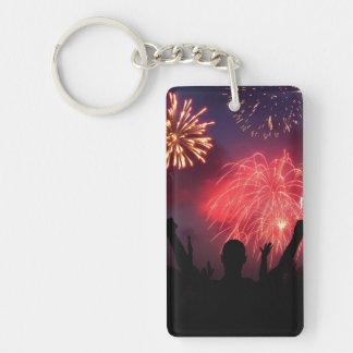 Fireworks Celebration Key Chain